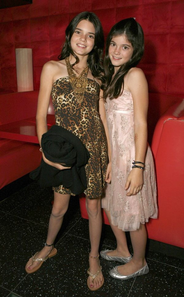 "Kylie Jenner (right) at the ""Keeping Up With the Kardashians"" viewing party on Oct. 16, 2007 in Agoura Hills, CA."