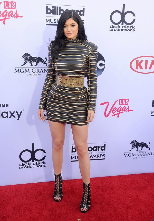 At the 2015 Billboard Music Awards on May 17, 2015 in Las Vegas, NV.