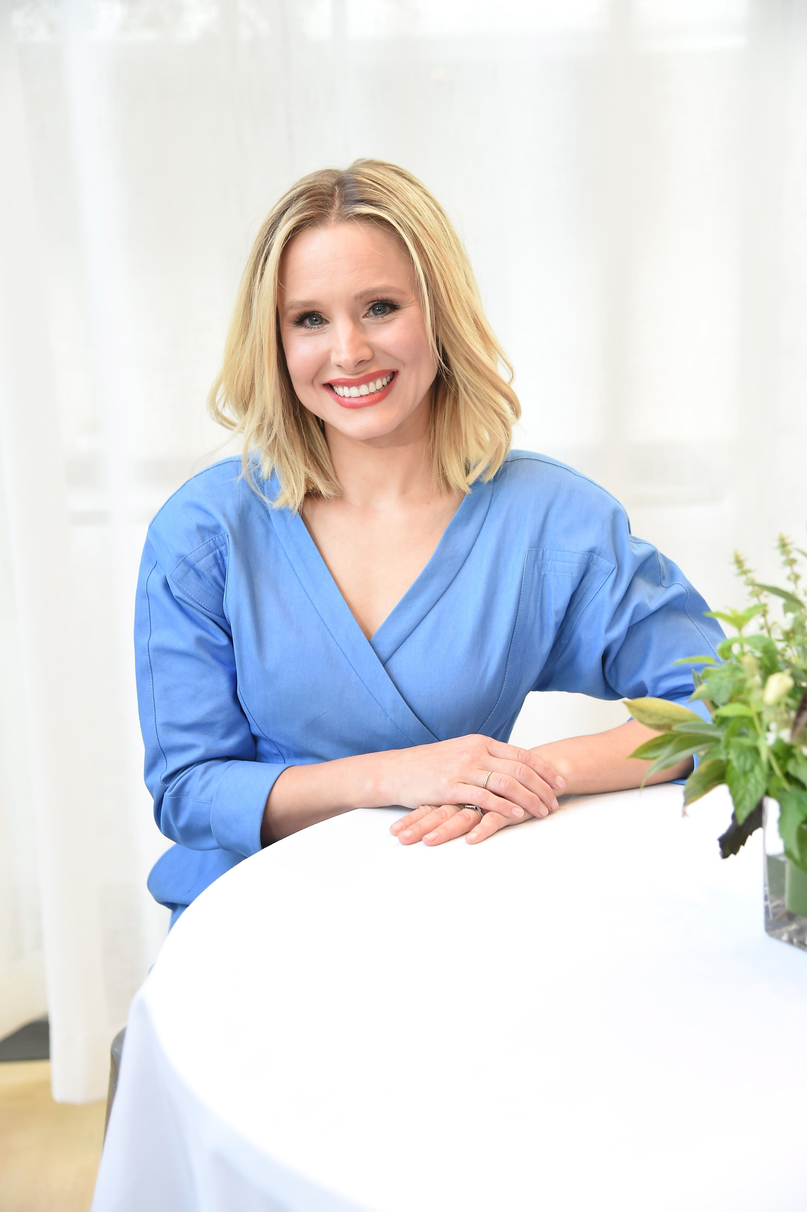 Kristen Bell spoke to HuffPost about parenting at a Naked Juice #DrinkGoodDoGood event.
