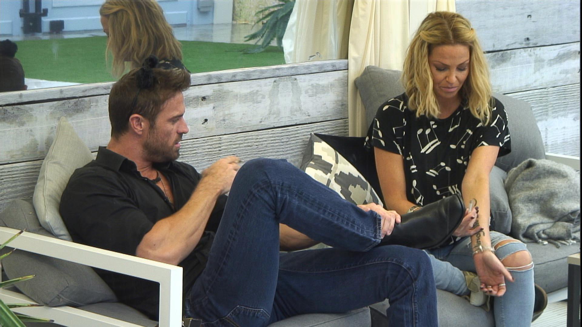 Celebrity Big Brother's Sarah Harding Reveals Girls Aloud Struggles Inspired One Of Her