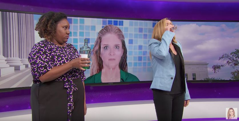 President Trump's Judicial Nominees Drive Samantha Bee To Drink