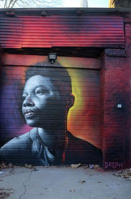 Artist Transforms Abandoned Buildings In New Orleans With Powerful