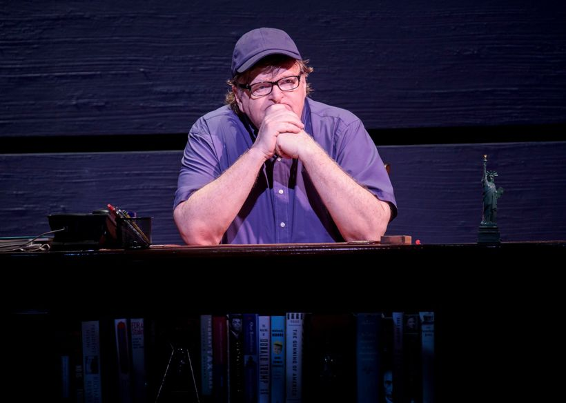 Michael Moore in <em>The Terms of My Surrender</em>
