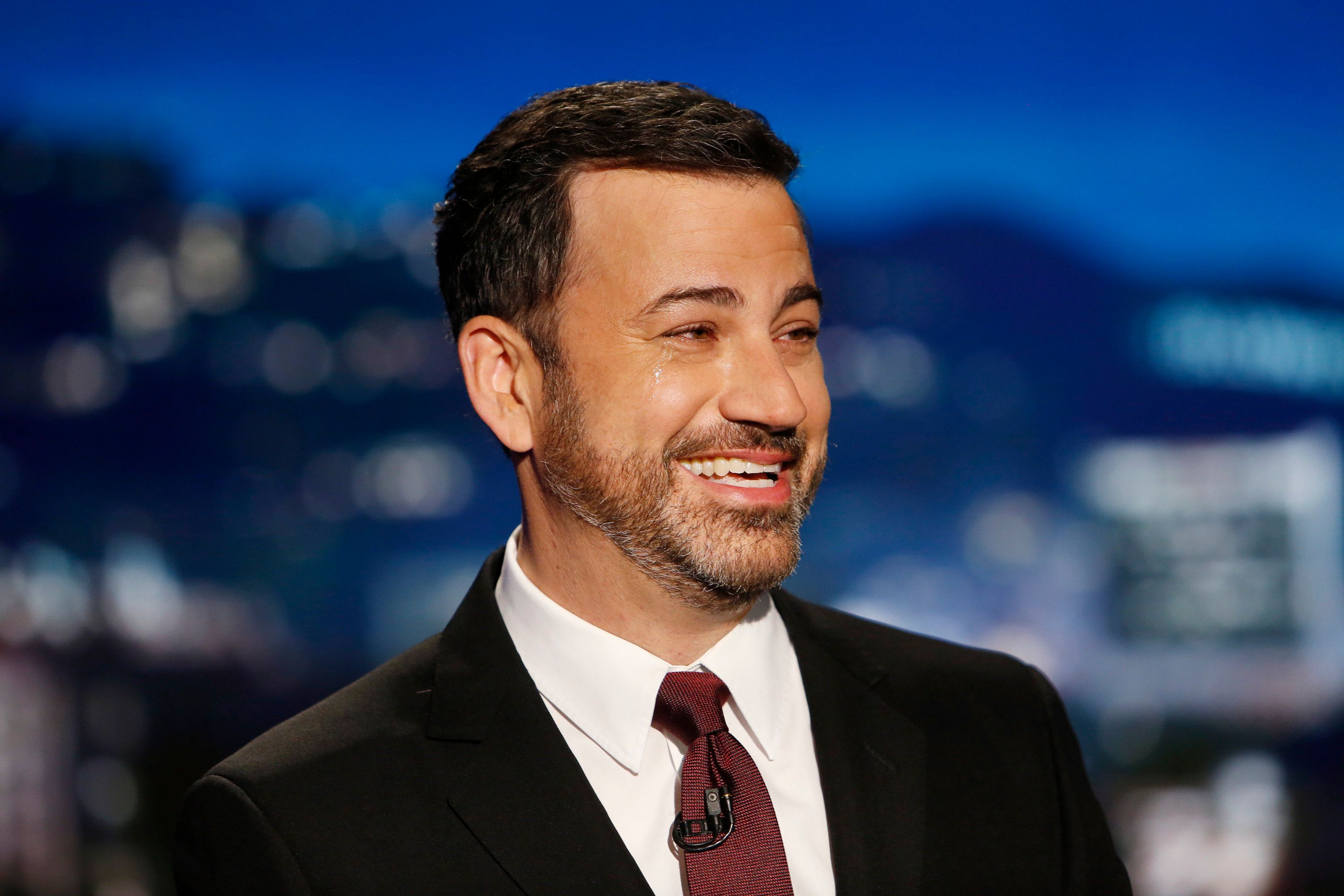 """Jimmy Kimmel on the May 1, 2017, taping of """"Jimmy Kimmel Live!"""""""