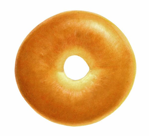 Egg should be served ONthe bagel, not INthe bagel dough. This one's too rich for our blood.