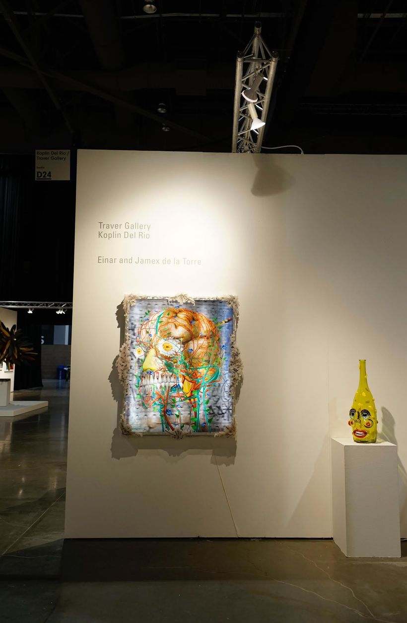 Koplin Del Rio with Traver Gallery at Seattle Art Fair, 2017