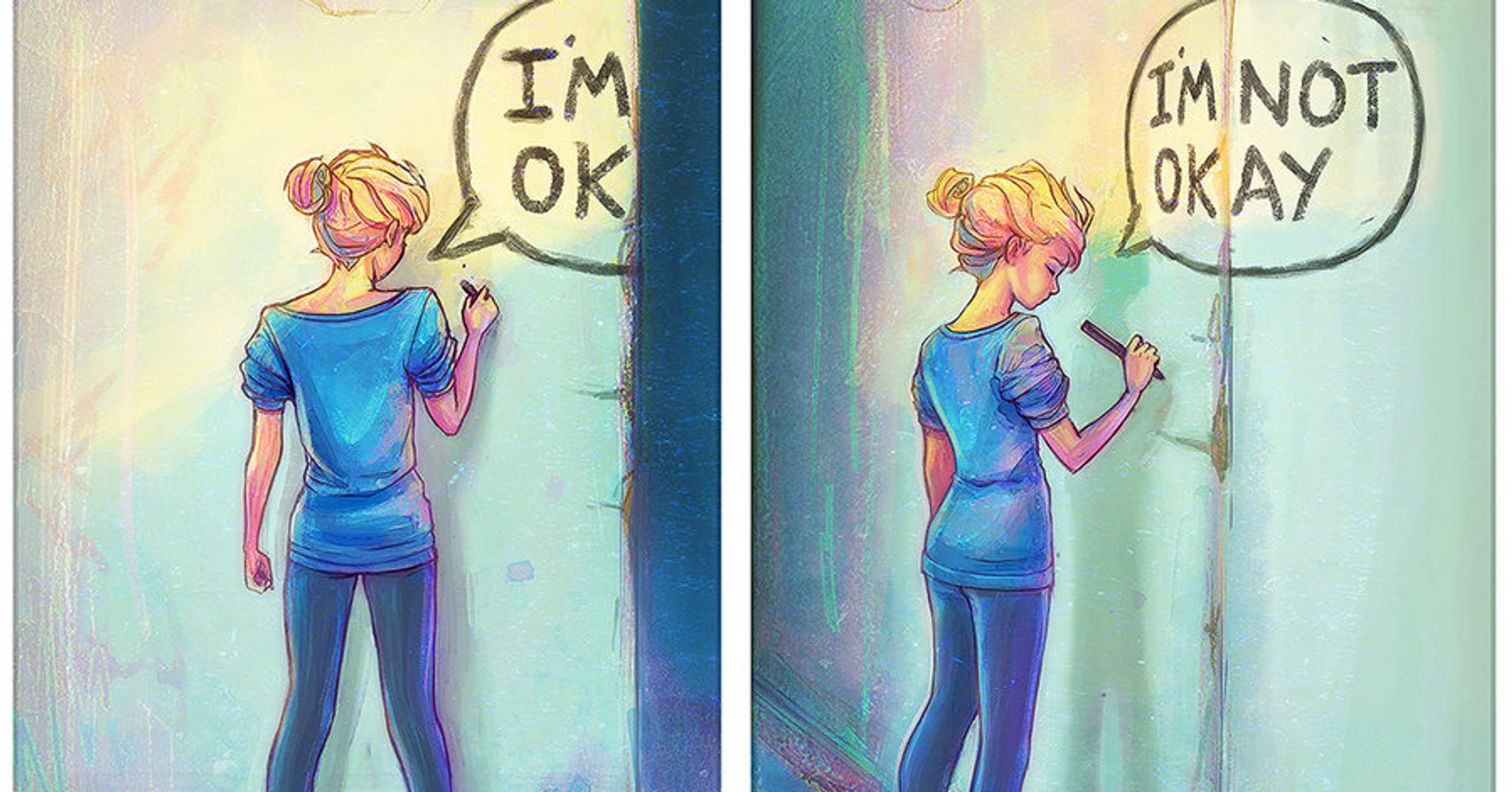 Artist Channels How Depression Feels Into Beautiful ...