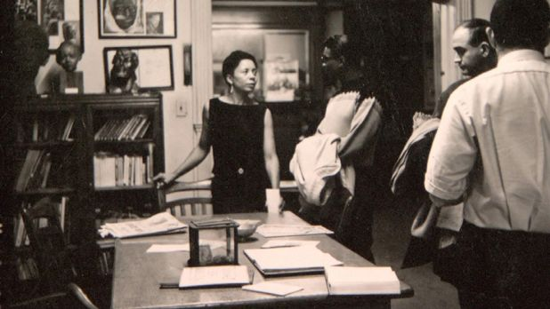 Dr. Margaret Burroughs, Founder of the DuSable Museum of African American History and Culture started the institution in her