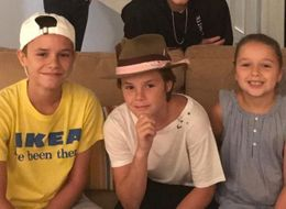 Victoria Beckham Shares Rare Photo Of Her Whole Family On Instagram