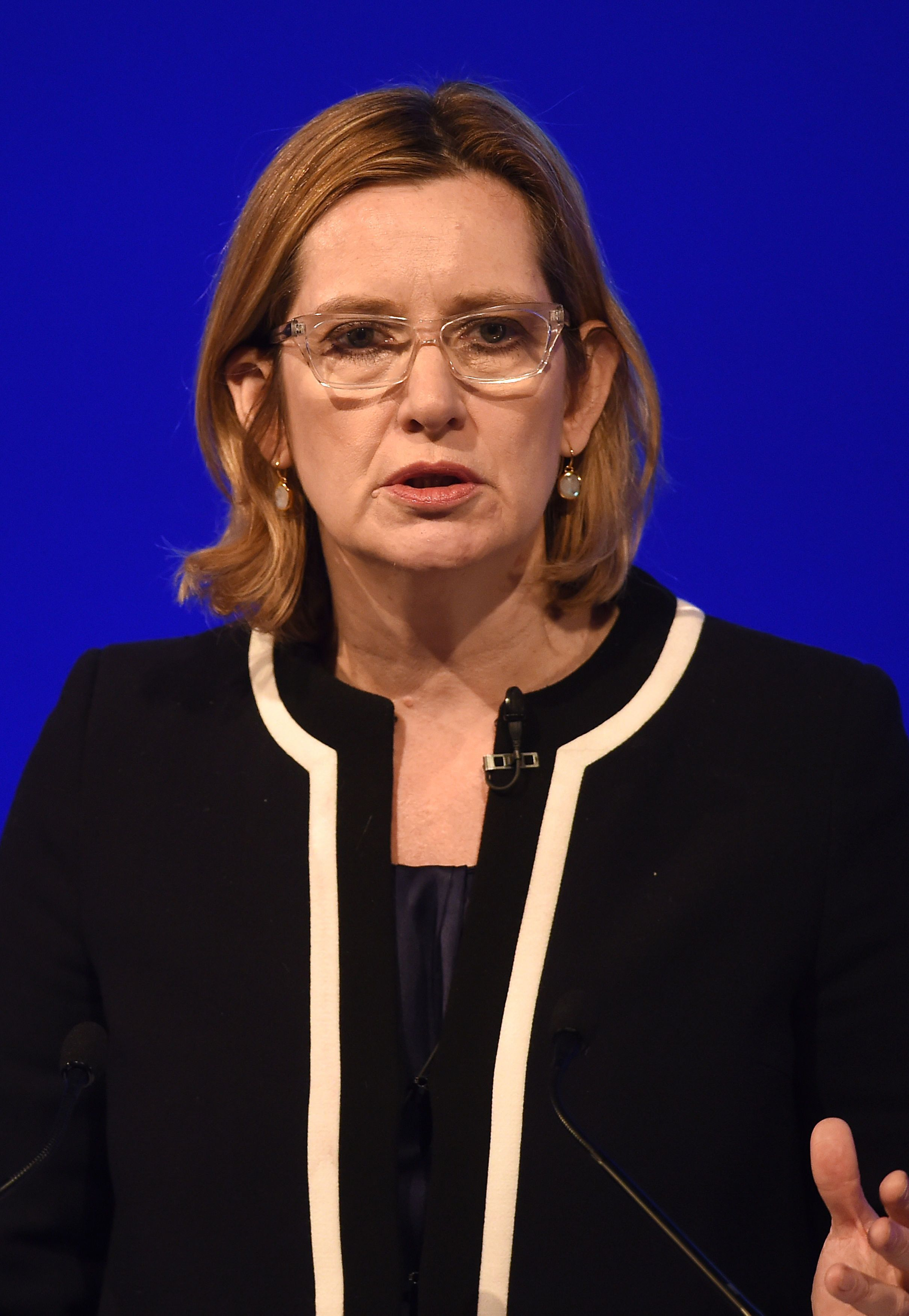 Amber Rudd said political correctness must not stop police tackling child sex