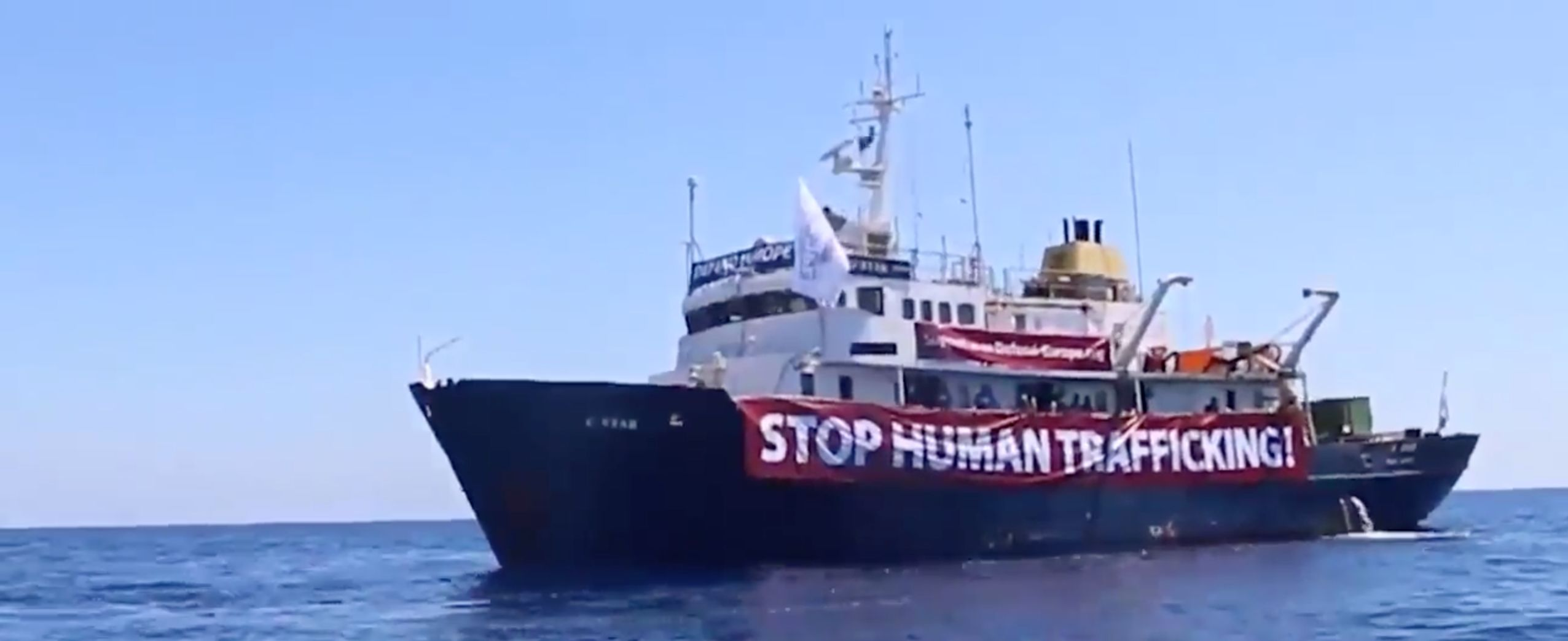 A Refugee Rescue Boat Has Been Sent To Help Anti-Refugee Group Defend