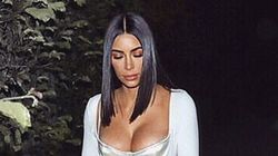 Kim Kardashian Foregoes Pants In Favour Of