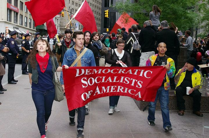 Socialist: No longer such a scary word in America.