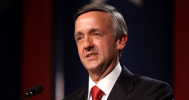 <p>Robert Jeffress speaking at the Values Voters Summit in D.C.</p>