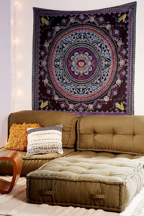 """Tapestries are huge for dorm rooms and my friends and I love all the ones from Urban!"" - Paula Hong, Georgetown University."
