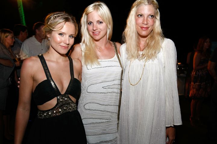 Kristen Bell, Anna Faris and Tori Spelling at the Maui Film Festival in 2009.