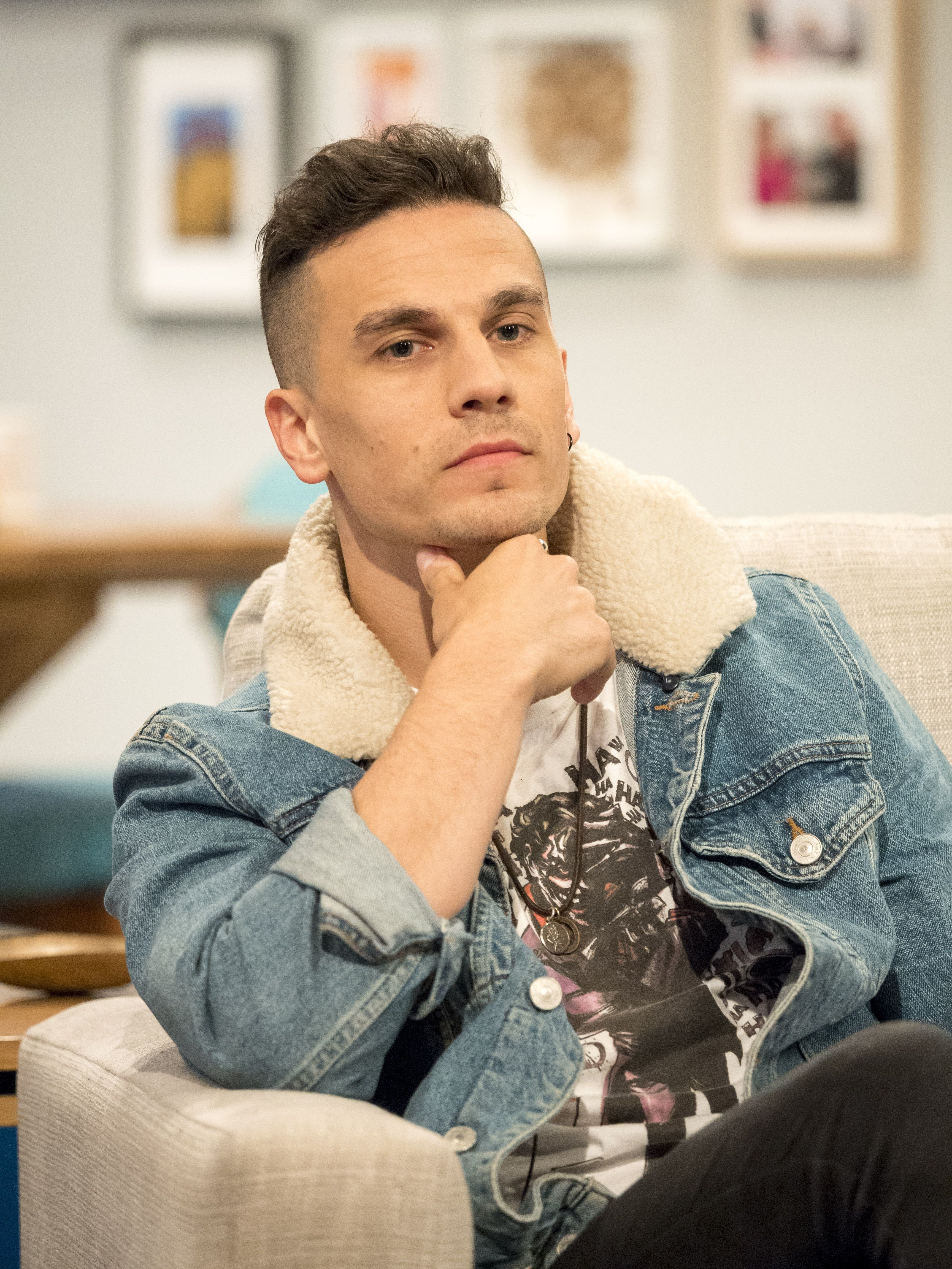 'EastEnders' actor Aaron Sidwell appeared on