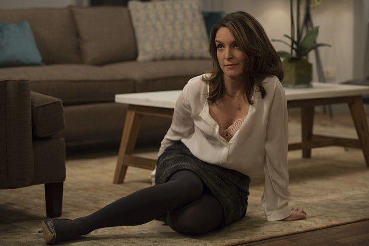 Tina Fey as the drunk psychiatrist