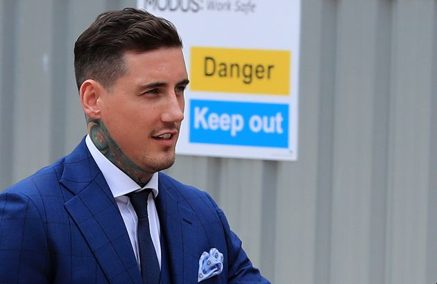 Jeremy McConnell arriving at Liverpool Magistrates