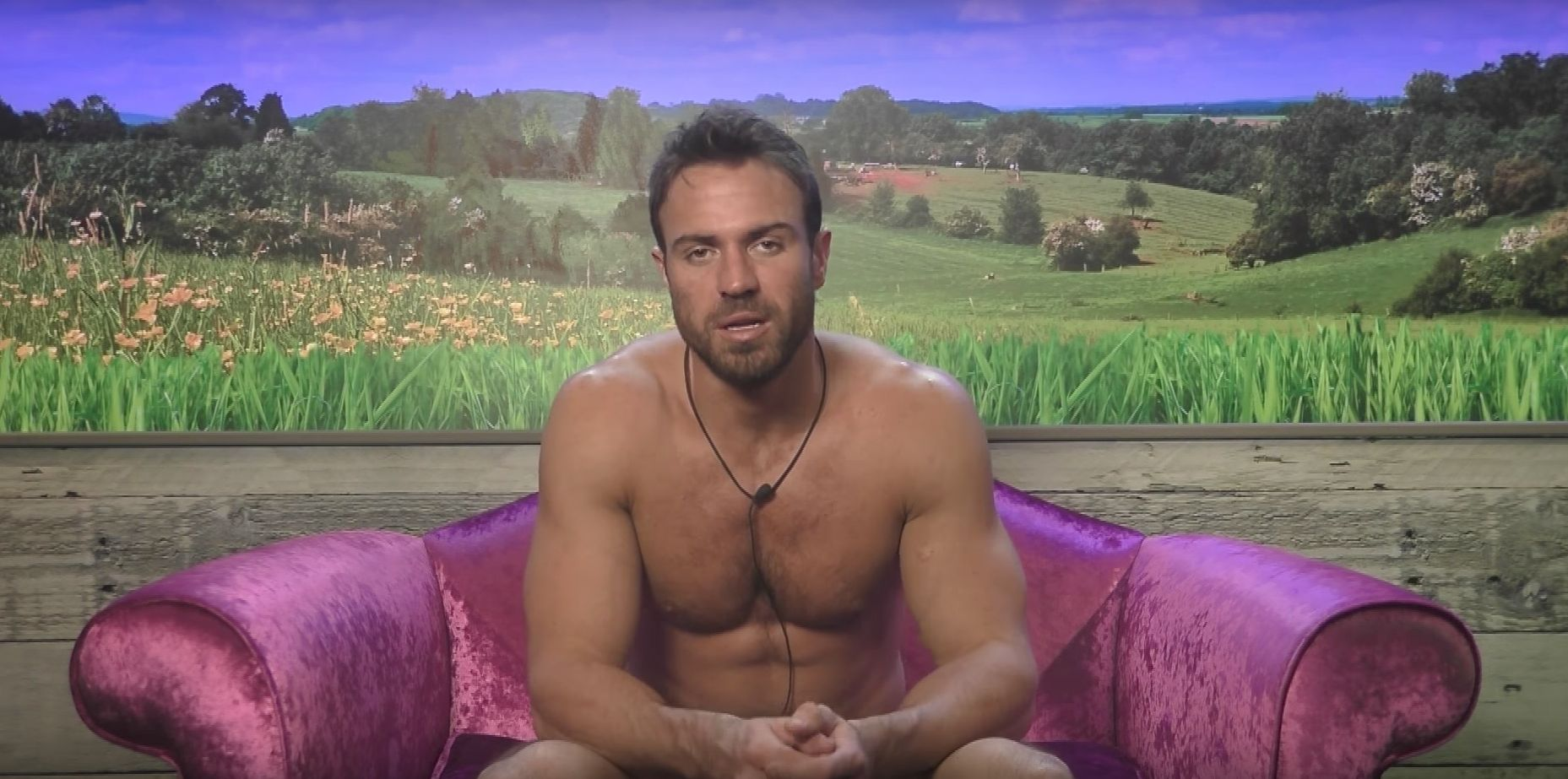 Celebrity Big Brother's Chad Johnson Confesses He's Got A Crush On Sarah