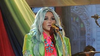 GOOD MORNING AMERICA -  Kesha performs live on 'Good Morning America,' Wednesday, August 9, 2017, airing on the ABC Television Network.  (Photo by Paula Lobo/ABC via Getty Images)   KESHA