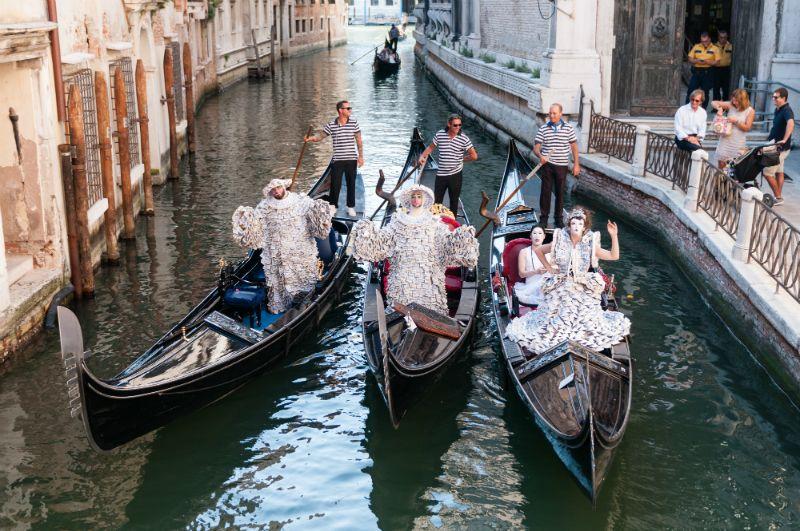 Sylva Dean and Me, Venice Canals, July 2017