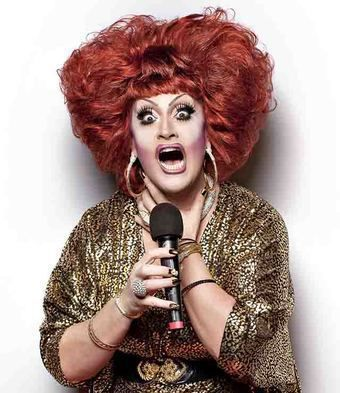 "Drag Comedian Jackie Beat has worked with ""all the loud-mouthed bitches"" in Hollywood."