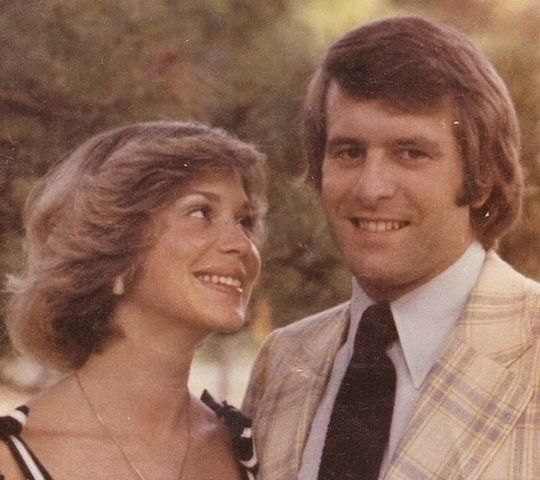 Michael King and his wife, Susan King, now Susan DeRamus, in the mid-1970s.