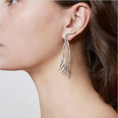 Buy theMey Flight Earrings for $227.78