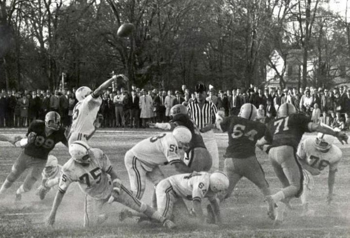 Michael King played quarterback at Hampden-Sydney College, but never played professionally. As he got older, he began to