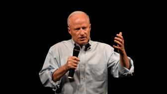 HENDERSON, CO - AUGUST 1: U.S. Rep. Mike Coffman answers questions during his town hall at Prairie View High School in  on August 1, 2017 Henderson. (Photo by John Leyba/The Denver Post via Getty Images)