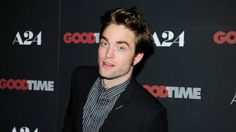 NEW YORK, NY - AUGUST 8:  Robert Pattinson attends 'Good Time' New York Premiere at SVA Theater on August 8, 2017 in New York City. (Photo by Paul Bruinooge/Patrick McMullan via Getty Images)