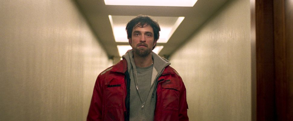"Robert Pattinson stars in a scene from ""Good Time."""