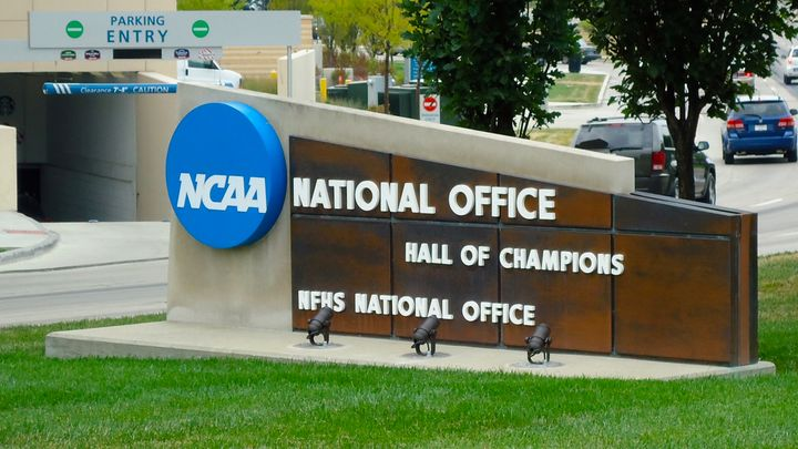 The NCAA National Office in Indianapolis, Indiana.
