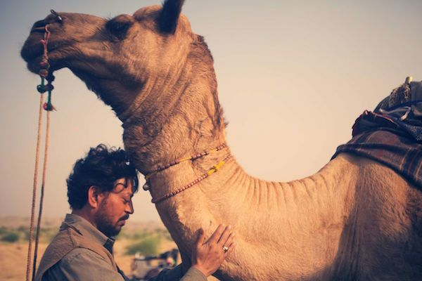 Irrfan Khan in a still from 'The Song of Scorpions'