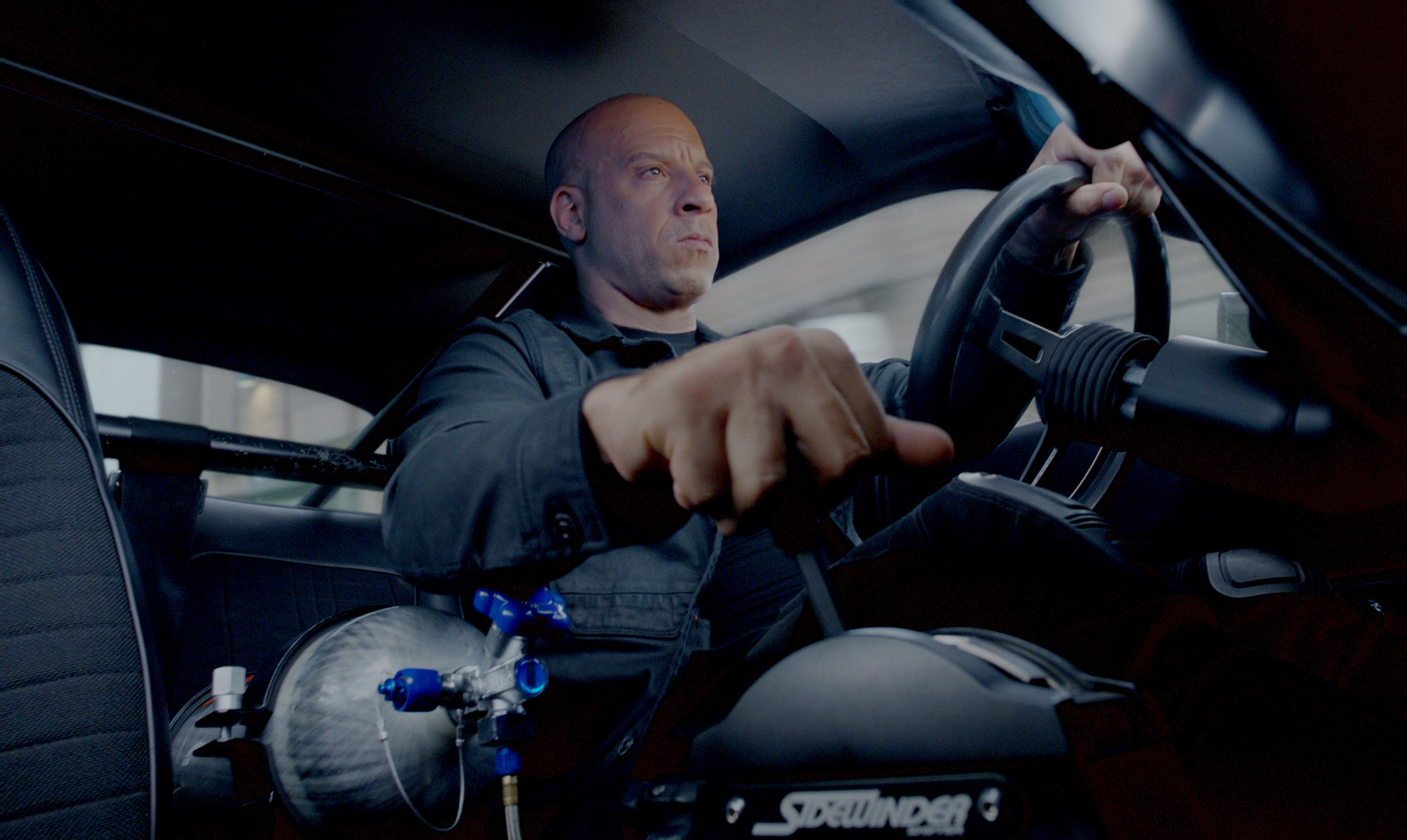 "VIN DIESEL stars as Dom in ""The Fate of the Furious.""  On the heels of 2015's ""Furious 7,"" one of the fastest movies to reach $1 billion worldwide and the sixth-biggest global title in box-office history, comes the newest chapter in one of the most popular and enduring motion-picture serials of all time."