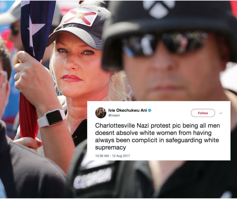 It Wasn't Just White Men Who Participated In The 'Unite The Right' Rally