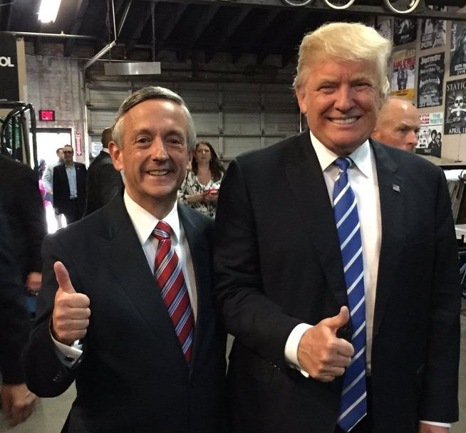 Jeffress and Trump: Nukes A-Okay!