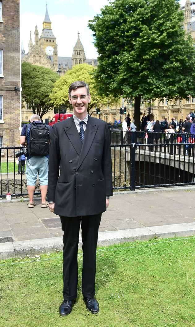 Jacob Rees-Mogg has distanced himself from