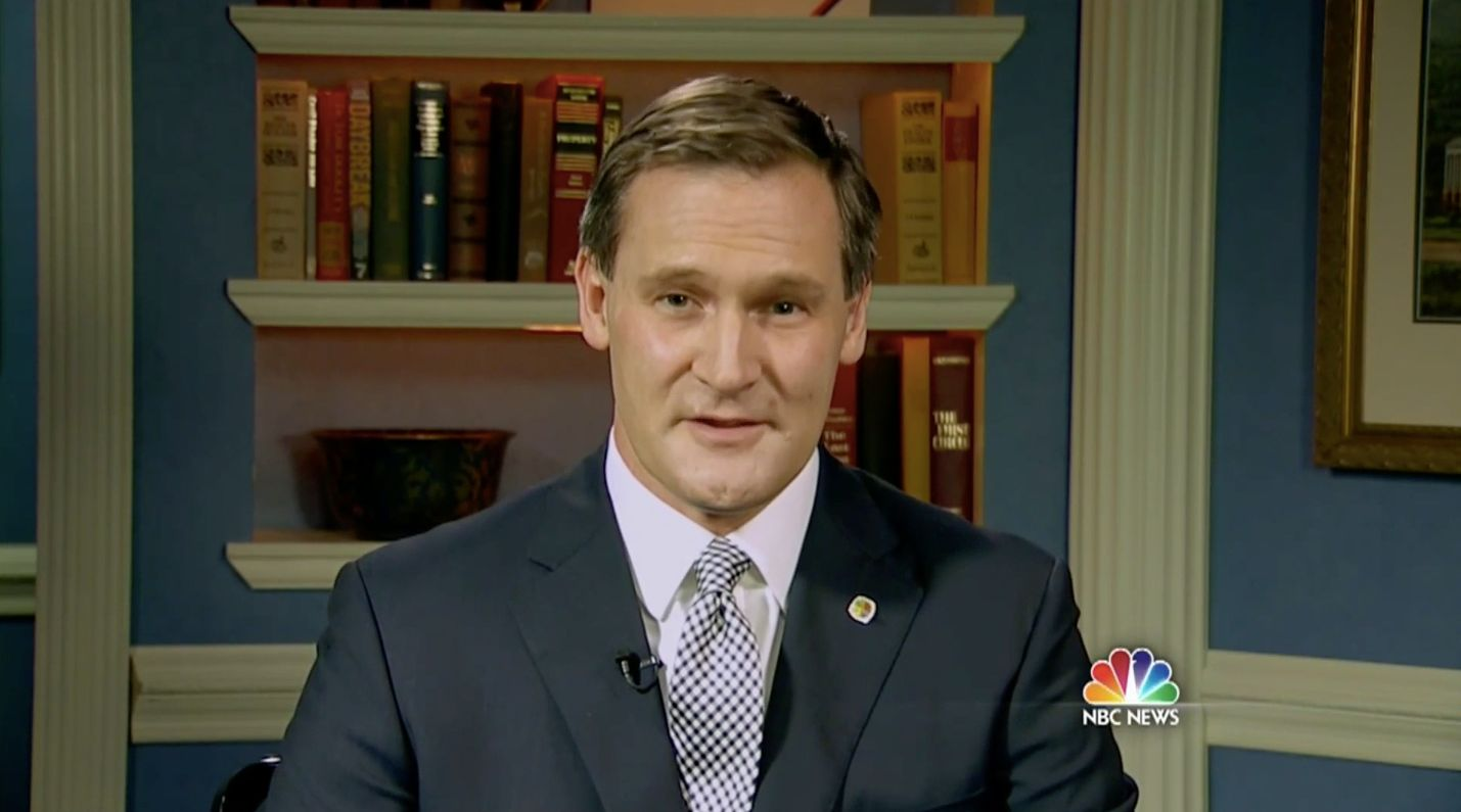 Charlottesville Mayor Michael Signer spoke out against President Trump's
