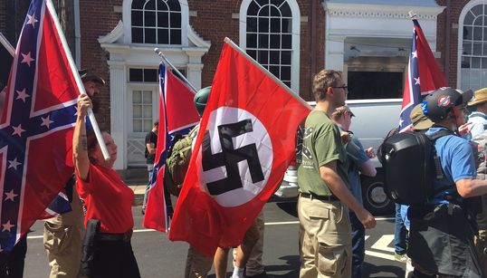 Como o que aconteceu em Charlottesville era