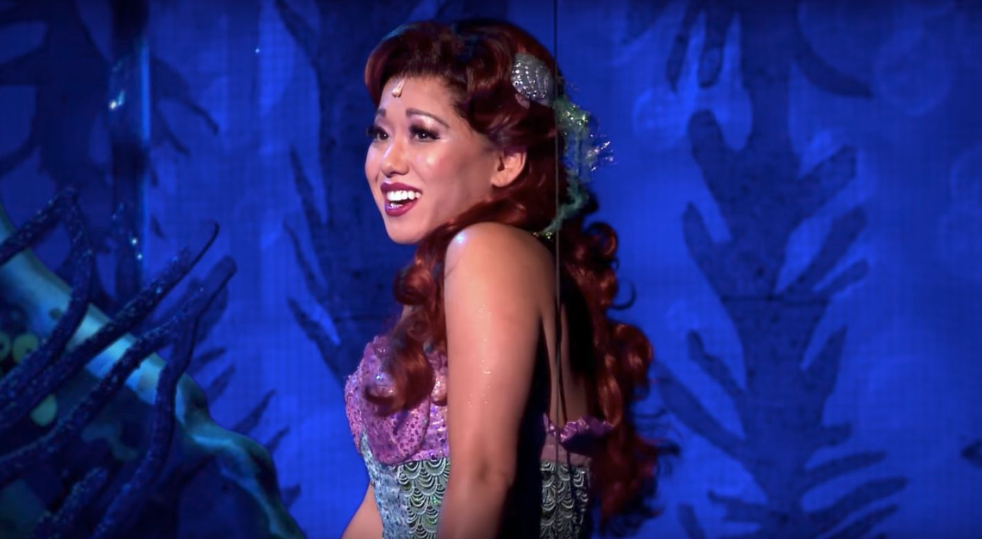 Japanese-born actress Diana Huey stars in the touring production of The Little Mermaid