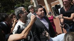 'Unite The Right' Organizer Flees His Press Conference In