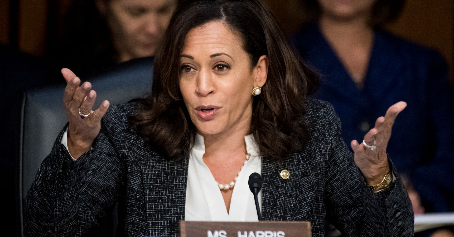 Kamala Harris: It's Not Hard To Spot The Wrong Side. They're The Ones With Torches And Swastikas