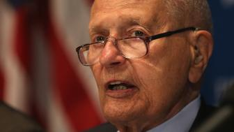 WASHINGTON, DC - JUNE 27:  Rep. John Dingell (D-MI) speaks at the National Press Club, June 27, 2014 in Washington, DC. Rep. Dingell who is the longest serving member of Congress was Newsmaker Luncheon speaker talked about 'When Congress Worked'.  (Photo by Mark Wilson/Getty Images)