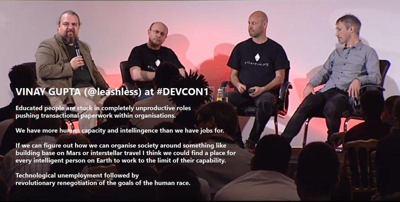 Vinay Gupa at #DEVCON1