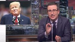 John Oliver: 'F**king Idiot' Trump Managed To Screw Up Disavowing
