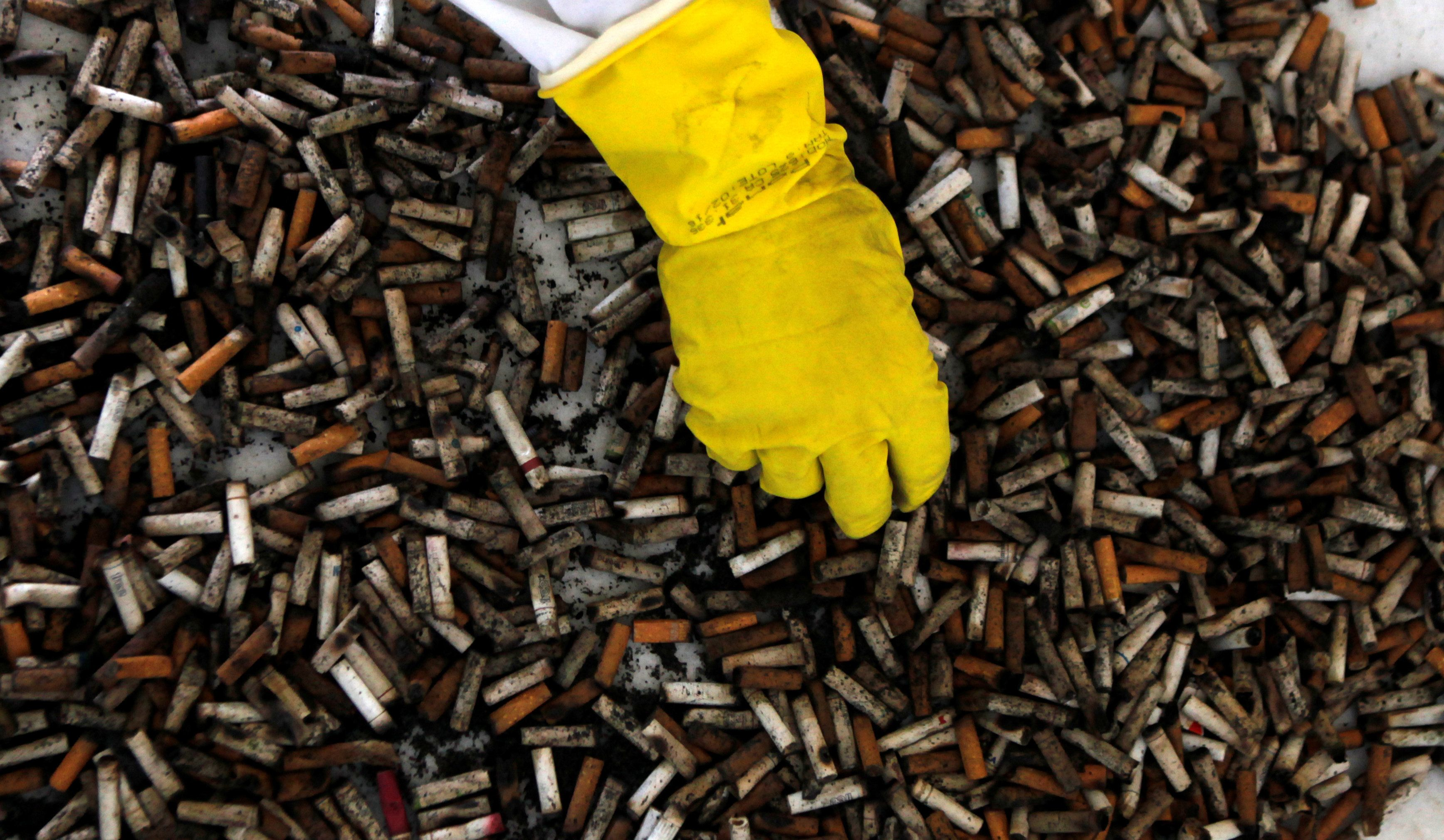 A Scientist Has A Remarkable Plan To Harness The Billions Of Cigarette Butts We Drop Every