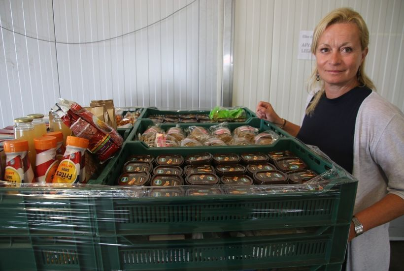 """Margje Polman Tuin, intake manager at the Amsterdam Food Bank: """"<em>despite a decrease in the wealth gap in the Netherlands,"""