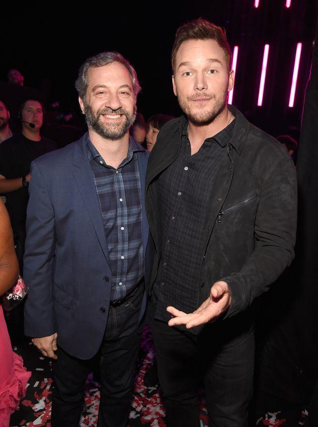Chris backstage with Judd